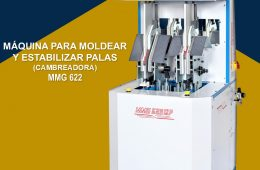 06. Máquina para moldear y estabilizar palas (Cambreadora) – ERPS (Brasil)