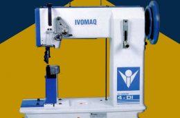 17. Máquina de Poste para costura de hilo grueso – IVOMAQ (Brasil)