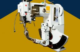 16. Máquina para coser suela de caja – IVOMAQ (Brasil)