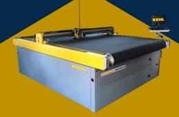 11. Máquina con cuchilla para cortar cuero, sintéticos y textiles – KEHL (Brasil)