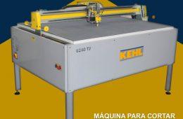 12. Máquina para cortar carton, EVA y otros – KEHL (Brasil)