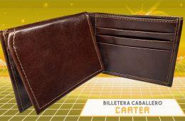 BILLETERA DE CABALLERO CARTER